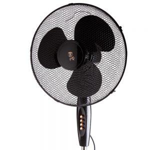 Вентилатор със стойка 45W Berlinger Haus Black Rose Collection BH-9130
