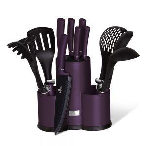 КОМПЛЕКТ НОЖОВЕ BERLINGER HAUS BH6258, Purple Elipse Collection